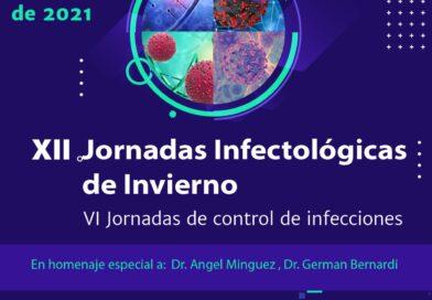Agendá 12 y 13 de Agosto! Jornadas Infectologicas de Invierno